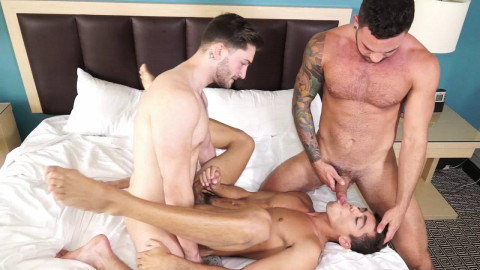 Ashton Summers, Judas Cole and Preston Cole - Catch By The Pool