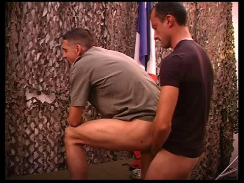 Sexy Soldiers Get Rough Fuck