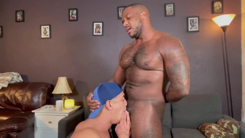 Muscle Stud Aaron Chu Gets Deep Dicked By Micah Martinez