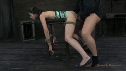 Bondage Fuck Challenge For Kristine Kahill