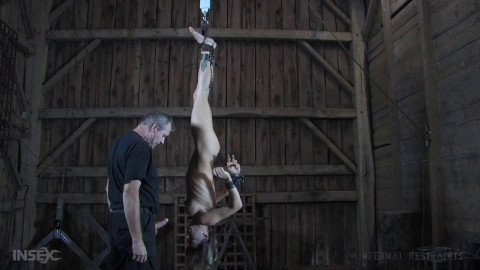 Bondage, suspension and ache for sexually excited whore part 1 HD 1080p