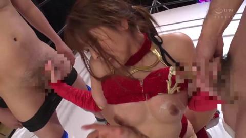 Akane, The Large Wobblers Female Wrestle