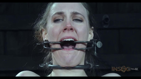 Hard bondage, strappado and torture for naked slut part 1 FullHD