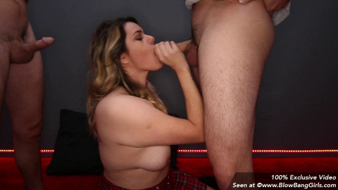 Danielle - Another Banging Blowbang 7 Facials (2018)