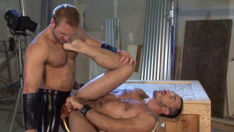 Muscle Bears Have a fun Coarse Fuck
