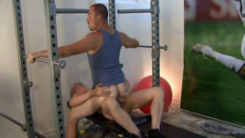 Bareback Sex At Jock House