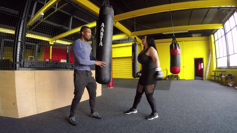 boxing workout session full hd