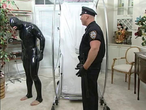 Top Cops Dominated At BDSM Academy