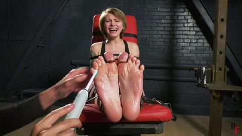 Bdsm Most Popular Intense tickling of hawt soles