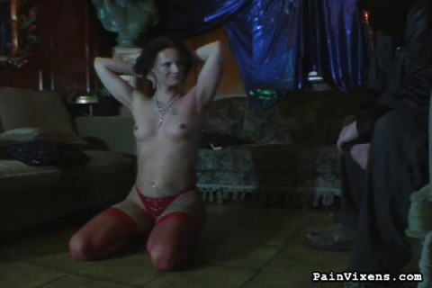 PainVixens Hard Whipped MILF