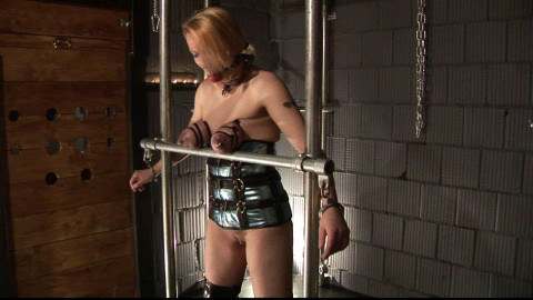 Hard Tit Torture for Breastslave Eva
