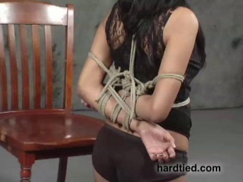 A hot new bondage innocent named Sweetness comes to