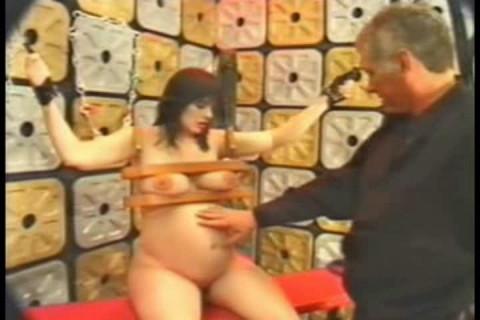 Pregnant Bondage-5