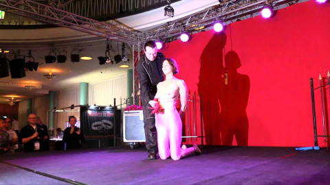 Master of Pain - Another Public Breast Suspension live from Venus