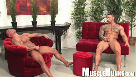 Musclehunks - Caleb del Gatto & Jackson Gunn - Beasts & Butts