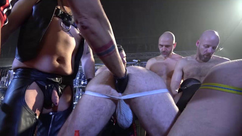 The group-sex! Alberto Esposito, Fritz der Haarige Ale Tedesco