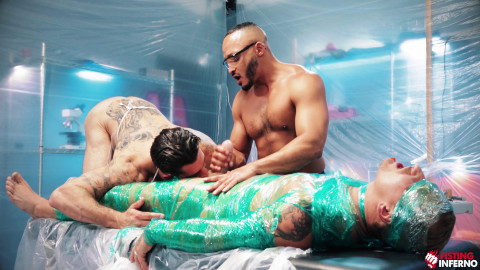 Wrapped, Scene 03 Dillon Diaz, Alpha Wolfe, Isaac X