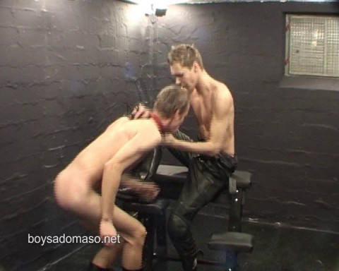 BoySM: youthful chaps punished, used, made water, tormented