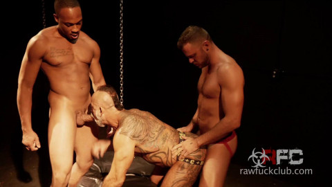Raw Fuck Club - Bo Bangor, Trent King and Wade Wolfgar