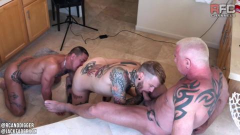Raw Fuck Club - Boujee Bathroom Fuck Part 1