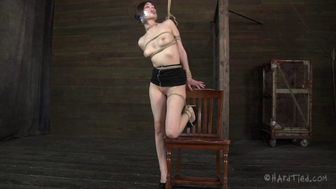 Tegan tied up and vulnerable she is going to want to have some fun with her, too