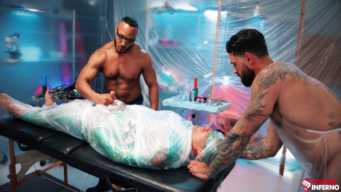 Dillon Diaz, Alpha Wolfe, Isaac X - Wrapped, Scene #03