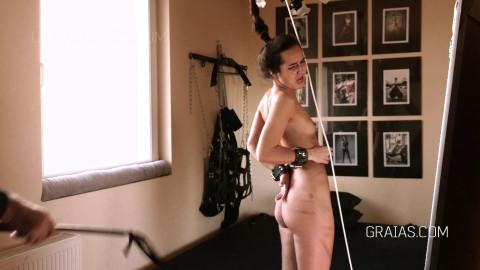 Teen Student Monica Punished Hard
