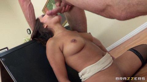 Hot Girl Has A Very Private Meeting With The Boss Cock