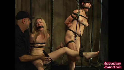 TheBondageChannel - Chloe Bound To Torment Nyssa