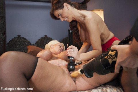 Milf Wars - Alura Jens0n and Syren De Mer vs. The Machines