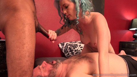 The desire to fuck with her husband with the alpha male