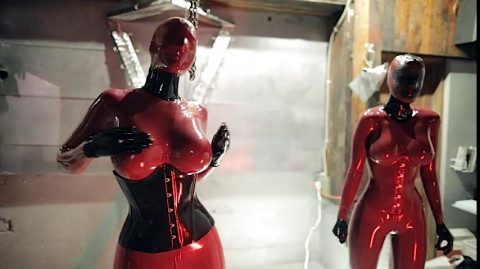 Reflective Desire 31 Video Fetish, Latex, Rubber (2016-2017)