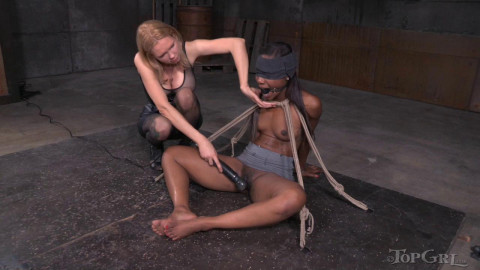Curious Reporter Chanell Heart Punished & Drilled Heavy