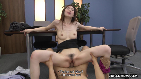Misaki Yoshimura - Office whore craves co-workers 10-pounder (2021)