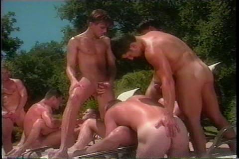 Vintage Pool Orgy