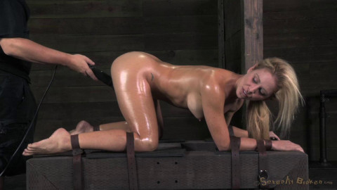 Cherie DeVille completely destroyed by Big Cocks