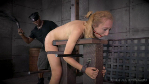 Emma Haize Enjoys Rough Bondage