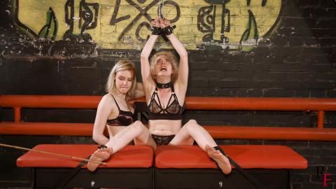 Bdsm Most Popular Mistress Polina vs Astrid the thief part 3