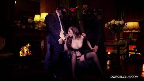Manon Martin Banged By 4 Masked Men