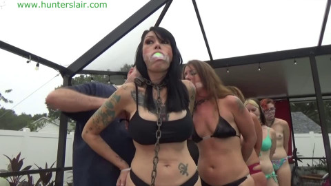 Bondage, domination and torment for very hot angels part 1