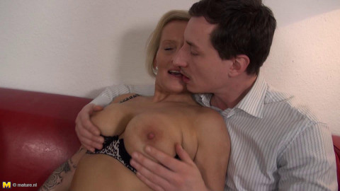 Leni - German housewife doing her toyboy HD 720p