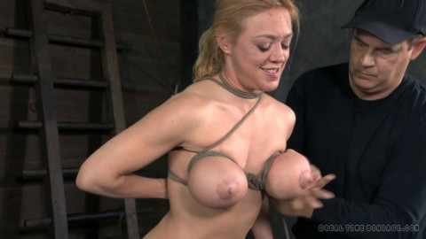 RTB - Naughty Darling blindfolded, caged and tagteamed by dick! - Apr 1, 2014 - HD