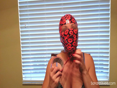 Self Mouth-Stuffing, Self-Gagging & a Self Duct Tape Hood!