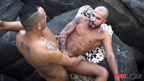 Kadu Silva and Patrick Garcia - Brazil Beach Barebackers