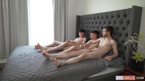 Ryan Jacobs, Edward Terrant and Benjamin Blue