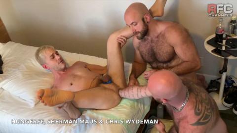 Triple Tag Team Fisting Pt2 Chris Wydeman and I FistFuck Sherman Maus