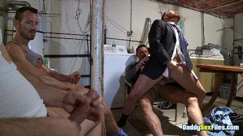 DaddySexFiles - Basement Jock Club Buddies