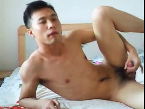 Asian Boys in front of Webcam