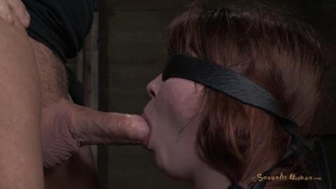 Sexually Broken - Tiny 410 Jessi Palmer gets face fucked into oblivion -  Apr 12, 2013