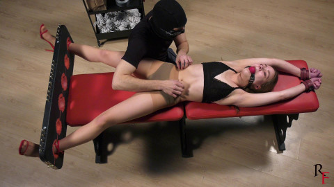HD Dominance and submission Sex Episodes Intensive lengthy tickling in Y pose